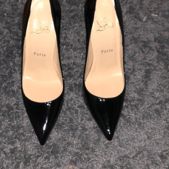 "brand new 7841a 8f77a Christian Louboutin Black ""So Kate"" Pumps"
